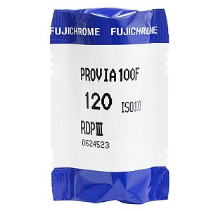 FUJI Provia F 100 120 Medium Format Film (Single Roll)