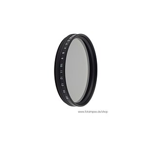 HELIOPAN Linear Polarizing Filter Slim - Diameter: 49mm