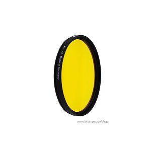 HELIOPAN Dark-Yellow (15) - Diameter: 52mm (SHPMC Specially Coated)