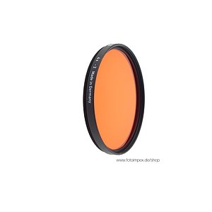 HELIOPAN Filter Orange (22) - Diameter: 39mm (SHPMC Specially Coated)