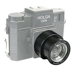 HOLGA Plastic Fisheye Lense for 120 Roll Film Cameras