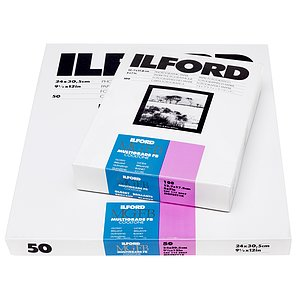 ILFORD Multigrade FB Cooltone 1K - Natural Gloss - 13x18 / 100 Sheets - Gradation: Variable