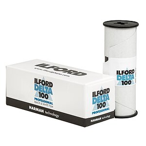 ILFORD Delta 100 120 Medium Format Film