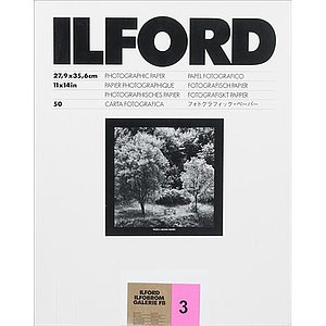 ILFORD Ilfobrom Galerie FB Gradation 3 - Natural Gloss - 50x60 / 10 Sheets - Gradation: Normal (3)
