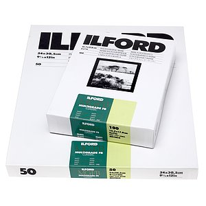 ILFORD Multigrade FB Classic 5K  - 18x24 / 100 Sheets - Gradation: Variable
