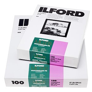 ILFORD Multigrade FB Classic 1K - Natural Gloss - 13x18 / 100 Sheets - Gradation: Variable