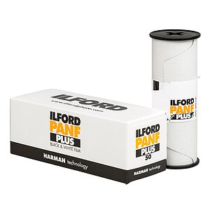 ILFORD Pan F 120 Medium Format Film