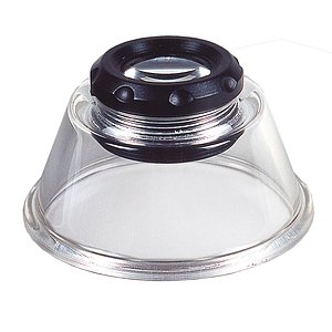 KAISER Magnifier With Focusing 6x6