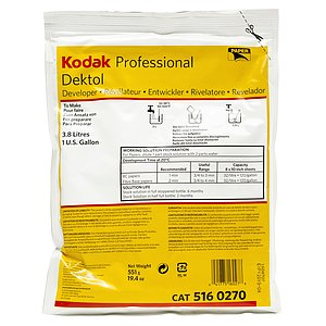 KODAK Dektol Pro To Make 3,78 Liters / 1 Gallon