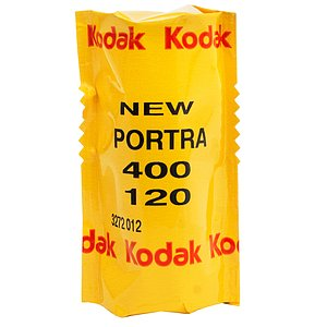 KODAK Portra 400 120 Medium Format Film (Single Roll)