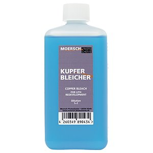 MOERSCH Copper Sulfate Bleacher For Lith Re-Development 500 ml