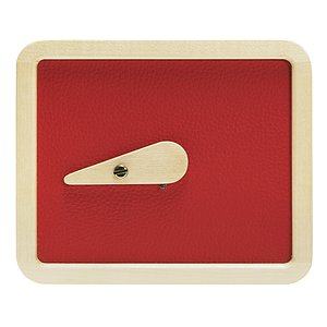 LEROUGE 4x5 inch wooden Pinhole Camera (red)