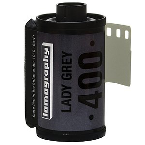 LOMO Lomography Lady Grey B&W 400 35mm (Pack Of 3)