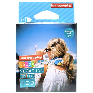 LOMO Lomography Color Negativ 100 120 Medium Format Film (Pack Of 3)