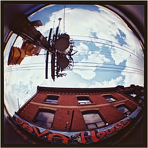 LOMO Lomography Diana+ 20mm Fisheye Lens