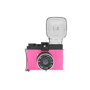 LOMO Lomography Diana F Camera Mr. Pink
