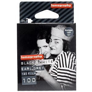 LOMO Lomography Earl Grey 100 120 Medium Format Film (Pack Of 3)