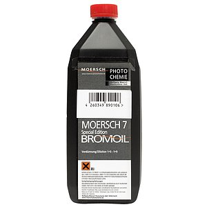 MOERSCH SE7 Bromoil Print Developer 1000 ml Concentrate