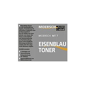 MOERSCH Refill Pack Clearing Bath for Iron Blue Toner 450g