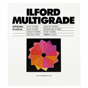 ILFORD Multigrade Filter-Set GelatiNe 9x9cm