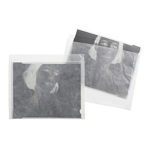 FOTOIMPEX Negative Pages For 4x5 Inch Sheet Film, Pergamine, 100 Sheet Pack