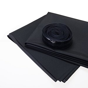 NOVA Darkroom Blind 142x175cm Including Hook-And-Loop Tape (Like Velcro)