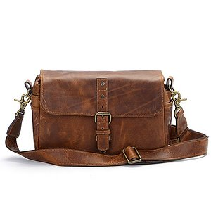 ONA Bowery Antique Cognac Leather Camera Bag