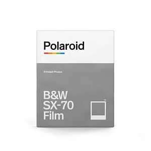 POLAROID ORIGINALS B&W SX-70 Film with 8 exposures