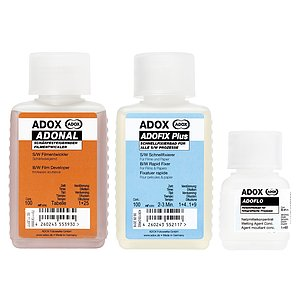 Bundle out of ADOX ADONAL 100 ml Concentrate + ADOX BABY ADOFIX Plus 100 ml Concentrate + ADOX BABY ADOFLO 50 ml Concentrate