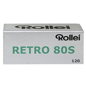 ROLLEI RETRO 80S 120 Medium Format Film
