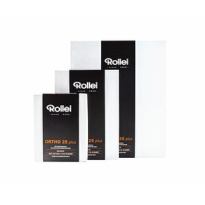 ROLLEI Ortho 25 Plus 20,3x25,4 CM (8x10 INCH) / 25 Sheets