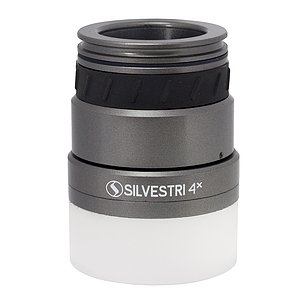 SILVESTRI Lupe 4x Professional