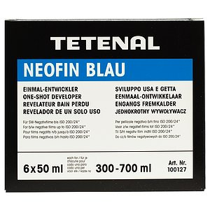 TETENAL Neofin Blau 6 One Shot Bottles