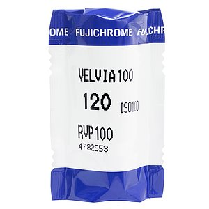 FUJI Velvia 100 120 Medium Format Film (Single Roll)