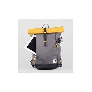 ZKIN Getaway Yali Backpack Yellow Grey