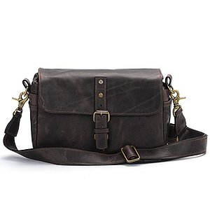 ONA Bowery Dark Truffle Leather Camera Bag