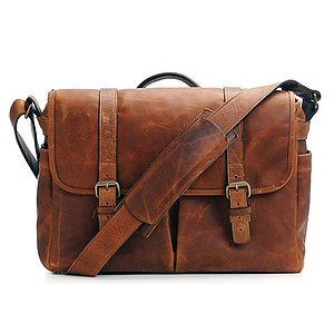 ONA Brixton Antique Cognac Leather Camera Bag