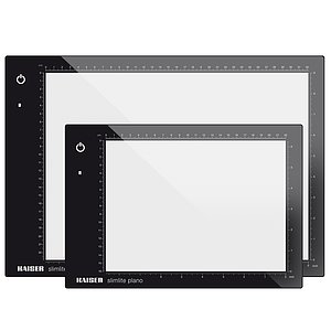 KAISER LED Light Plate slimlite plano 32x22,8 cm